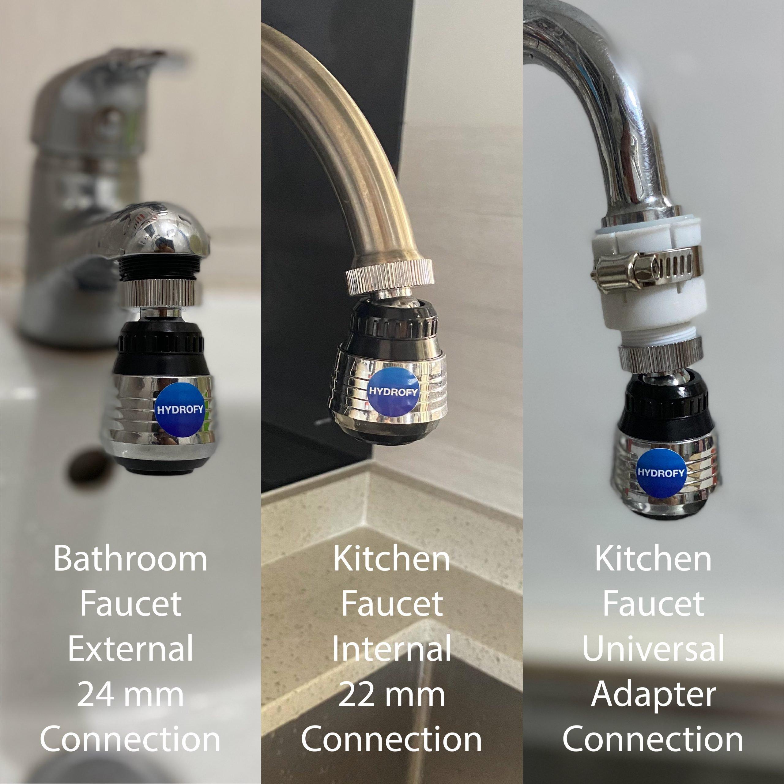 Faucet Aerator - Tap Aerator - Installation_Installation Variations